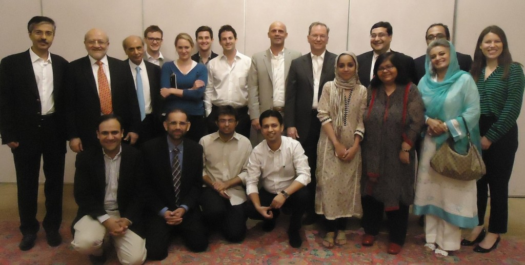 With Eric Schmidt Group 1024x517 Google Committed To Internet Freedom In Pakistan