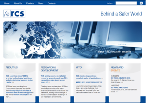 RCS Labs Website