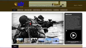 The UIT website homepage.